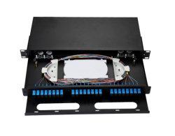 """24core SC/PC 19 het """" Verschuifbare rek-Onderstel Frame ODF, het Optische Comité van de Distributie van de Vezel Optische van het Flard"""