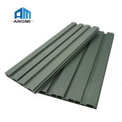 Personalizar el tamaño de pincel plinto de PVC impermeable kitchen cabinet el papel de aluminio perfil de PVC Panel de pared Rodapié