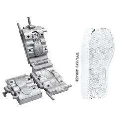 Promoções mensais Customized TPR-1519 Homens Mulheres 35#-45# Sports Calçados exclusivo TPR solado Série Molde