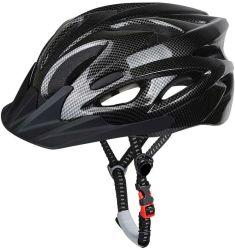 Adulto capacete de bicicletas, especializada para a mens da protecção de segurança ajustável, capacete e leve