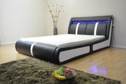 ホーム家具の一定のプラットフォームベッド調節可能なLEDの軽いベッドの寝室の家具