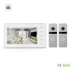 """IPS video sistema di obbligazione domestica del campanello del telefono del portello dello schermo HD 7 """" con il sistema di automazione domestica del sistema di controllo di accesso di obbligazione domestica di visione notturna"""