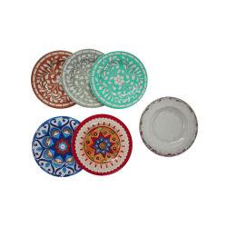 Piscina interior e exterior de plástico divertido Louça de placas de melamina inquebrável