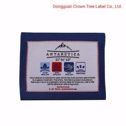 衣類のラベルによって編まれるラベルで縫うカスタマイズされた商標の罰金のクラフト