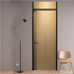 Costumbre popular de la Oficina Ecológica indoloro reforzado de madera contrachapada de puerta de entrada de moldeo de diseños de la puerta principal