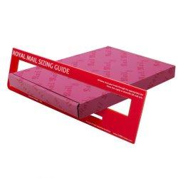 Benutzerdefinierte Große Größe Einfachen Brief Versand Mailing Box Porto Klein Dünne Pip Briefkasten Schlanke Karton Briefkasten Verpackung