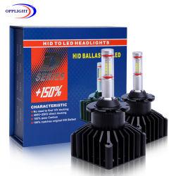 LED de M9 de alta tecnologia Interfaces dos faróis com o carro original de lastro HID AFS D1d2d3 Carro de LED de decodificação de 100% dos faróis