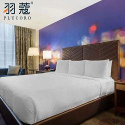 2020 In het groot Wit vijfsterrenGebruik voor de Reeks van het Bed van het Linnen van het Beddegoed van de Kwaliteit van het Hotel van de Luxe