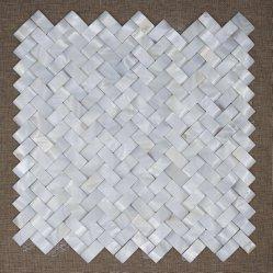 바닥용 Pearl Shell Mosaic의 어머니는 중국 도매 공급업체입니다 타일/식당/거실 벽 타일 장식