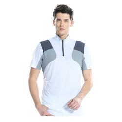 Mens T-Shirt à manches courtes Dry Fit de gros de vêtements 100%Polyester