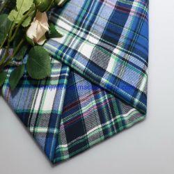 100% algodão Plaid Verificar os fios Tingidos de tecido flanela escovado para roupas, pijamas