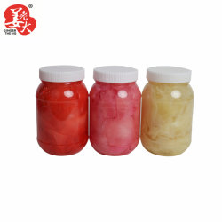 454G 플라스틱 병 스시 마리네이드 생강 핑크