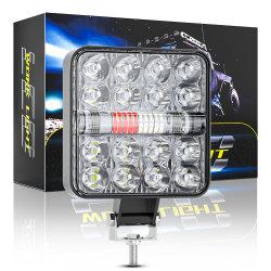 Dxz 특허 제품 26SMD 78W 스퀘어 스포트라이트 앤젤 아이 DRL SUV 차량의 트럭 LED 작업등