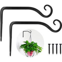 Colgantes personalizados soporte de la planta de la planta de pared Hanger gancho para las aves las Sembradoras/alimentador/linternas