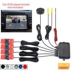 Автомобильная стоянка датчики системы Smart чувствительность 4 задний звуковой сигнал радара резервного копирования регулируемый звук