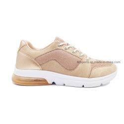 Calçado de mídias físicas tênis de corrida mulheres calçado desportivo de Design de Correspondência de cores