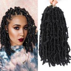 Synthetische menselijke haarvlinder Crochet Locs Hair for Woman
