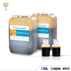 Catalyseur Octylferrocene huile combustible et suppresseur de fumée