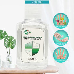 Olor fresco de la mano en el hogar de desinfección la desinfección alcohol al 75% de esterilización efectiva