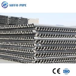 Tubo de água de plástico de PVC cinza/branco/UPVC/Tubo MPVC para irrigação agrícola do suprimento de água de sprinklers do cabo de material de construção