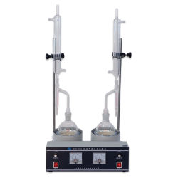 Testes de teor de água para o petróleo, petróleo, combustíveis, produtos químicos e outros produtos petrolíferos refinados.