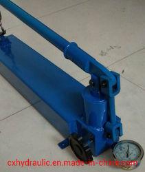 Manuel manuelle portable à deux vitesses de la pompe hydraulique haute pression à usage intensif
