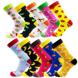 Die Großhandels Form 2019 fertigen Baumwollmannschafts-Kleid-Socken kundenspezifisch an