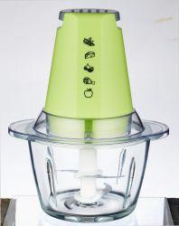 Lâmina de aço inoxidável+tigela de vidro alimentos vegetais do Picador