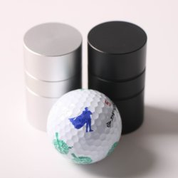 Aluminium Golf Ball Stampers Max Impressum Durchm. 20mm Amazon Bestseller Golf Geschenk