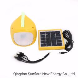 LED Lanterne solaire rechargeable avec Chargeur de téléphone mobile