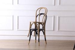 [كفج-7037س] كلاسيكيّة قابل للتراكم [سليد ووود] خشب الزّان [ثونت] [بنتووود] يتعشّى كرسي تثبيت