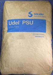 (PSU de polissulfona) Solvay UDEL P-1700 NT11 Resinas transparente natural