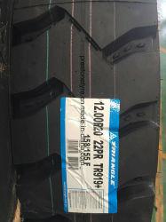 Triángulo de la marca Valleystrone Tr919 gran bloque de la banda de rodadura de neumáticos para camiones de diseño 1400r20 1200r20 1100r20 1000R20 900r20 8.25r16lt 7.50r16lt