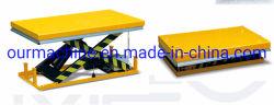 Stationärer elektrischer hydraulischer erhöhenaufzug-Hochleistungstisch des Lager-4000kg