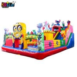 Saltar al aire libre castillo hinchable saltar de la casa de rebote Princess Bouncer Diapositiva inflable combinado