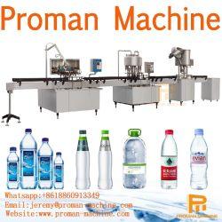 A à Z de bouteille en plastique automatique complète / minéraux / l'eau potable pure ligne complète avec l'INDUSTRIELLE RO de l'eau de remplissage du système de traitement de la machine de production d'Embouteillage