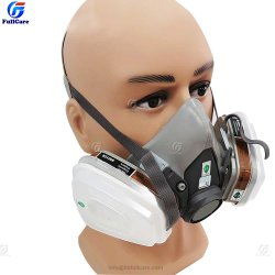 半フェイス化学薬品 Facepiece 再利用可能な半フェイスレスピレータ反産業用建設用ダストガスマスク、 6200 、 7500 、 7502 、ハーフフェイスマスク、 ガスレスピレータ