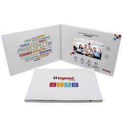 Banheira de vender 2.4/4.3/7polegada Brochura Vídeo Tela LCD /executado automaticamente a placa de vídeo