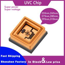 UV-C tiefes 280nm 275nm 270nm 265nm 260nm 255nm 254nm 250nm 5V 0.5W 3535 SMD UVC LED Chip der ultravioletten Dioden-für Desinfektion