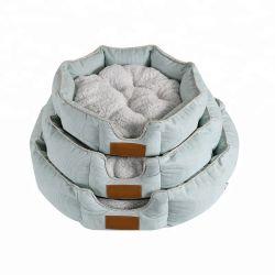 주문을 받아서 만들어진 연약한 둥근 고양이 침대, 개 침대