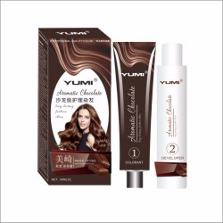 No Lovigor Chocolate Crema de Color de cabello de amoníaco