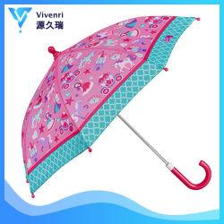 Pferden-voller Druck fertigen Mach-Farben-Griff-Regenschirm kundenspezifisch an