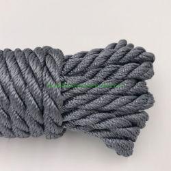 6mm/8mm (1/4-5/16 pulg.) colorida de la cuerda de poliéster trenzado de cuerda de poliéster de alta resistencia