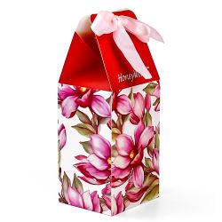 Fleur de superbes Imprimés Art décoratif papier sacs cadeaux pour les bonbons