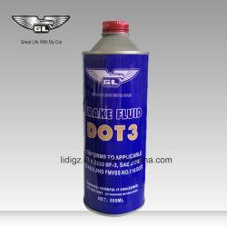 Hidráulico Nacional de Calidad SAE 500 ml de aceite del freno de color blanco