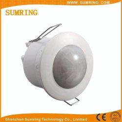 Мини-регулируемый 360 Потолочные пассивные инфракрасные детекторы инфракрасного органа датчик перемещения детектора лампы освещения 220V