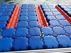 Piattaforma di galleggiamento del pontone del galleggiante di plastica di plastica di Modularl per il pattino del getto