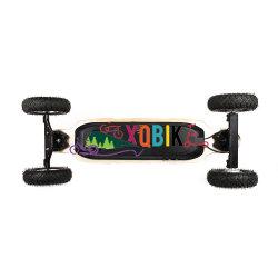 De Motor Doble Montaña off road de monopatín eléctrico eléctrico de 40km de Longboard Skate Deck Arce