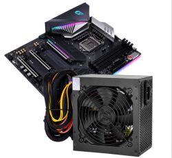 oro più 20/4pin di potere Rated 80 di 12V 650W 600W per il PC dell'Intel AMD - alimentazione elettrica standard del calcolatore dell'Ue ATX