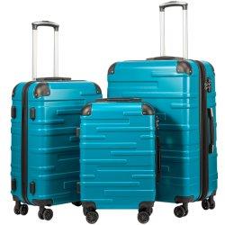 3-delige set uitvouwbare koffertje met TSA Lock Spinner 20 inch 24 inch 28 inch
